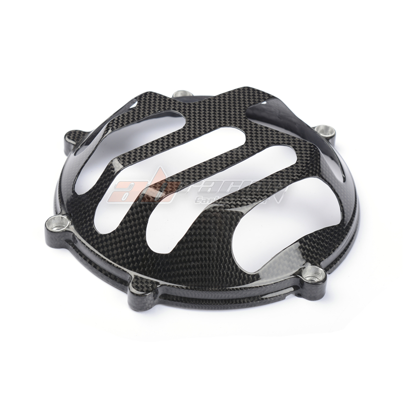 Clutch Cover  For ALL Ducati  Full Carbon Fiber 100%   Protection