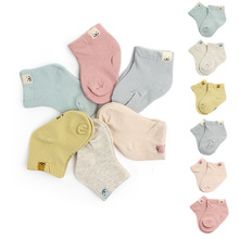Newborn Socks Boys Girls Fashion Cartoon Baby Socks Infant Candy Color Cotton Socks For Baby Gifts