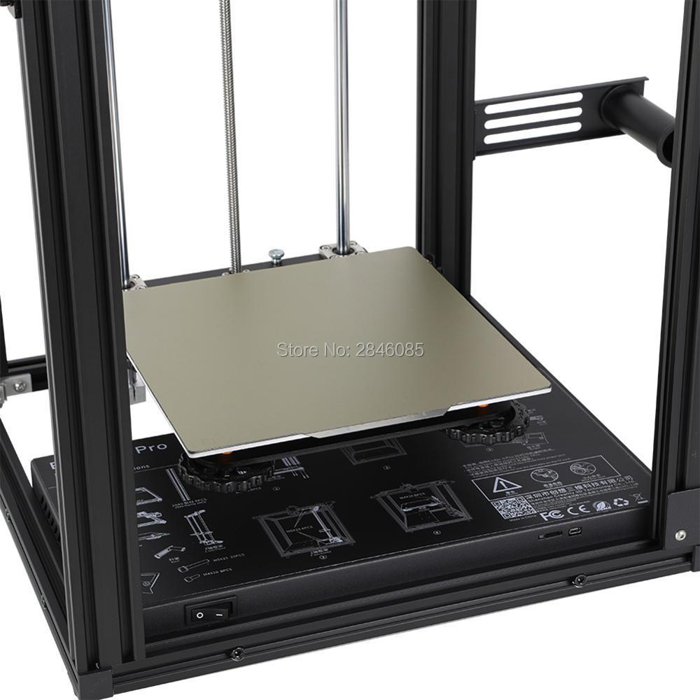 cheapest For Ender-3 Printer Newest 235 235 3mm 3D Printer Hotbed Build Plate 3D Printer Polypropylene Build Plate