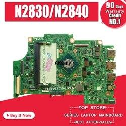 Dla DELL 3147 laptopa płyty głównej płyta główna w 11 3147 N2830/N2840 13270 1 CN 0XFXPH testowane dobry darmowy wysyłka w Płyty główne od Komputer i biuro na
