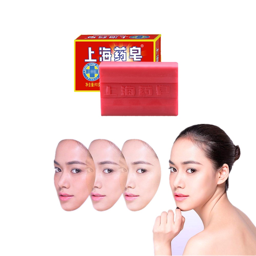 Anti-wrinkle Whitening Facial Cleanser Sulfur Facial Soap Freckle And Acne Removal Itching And Inflammation Relief Skin Cleaning