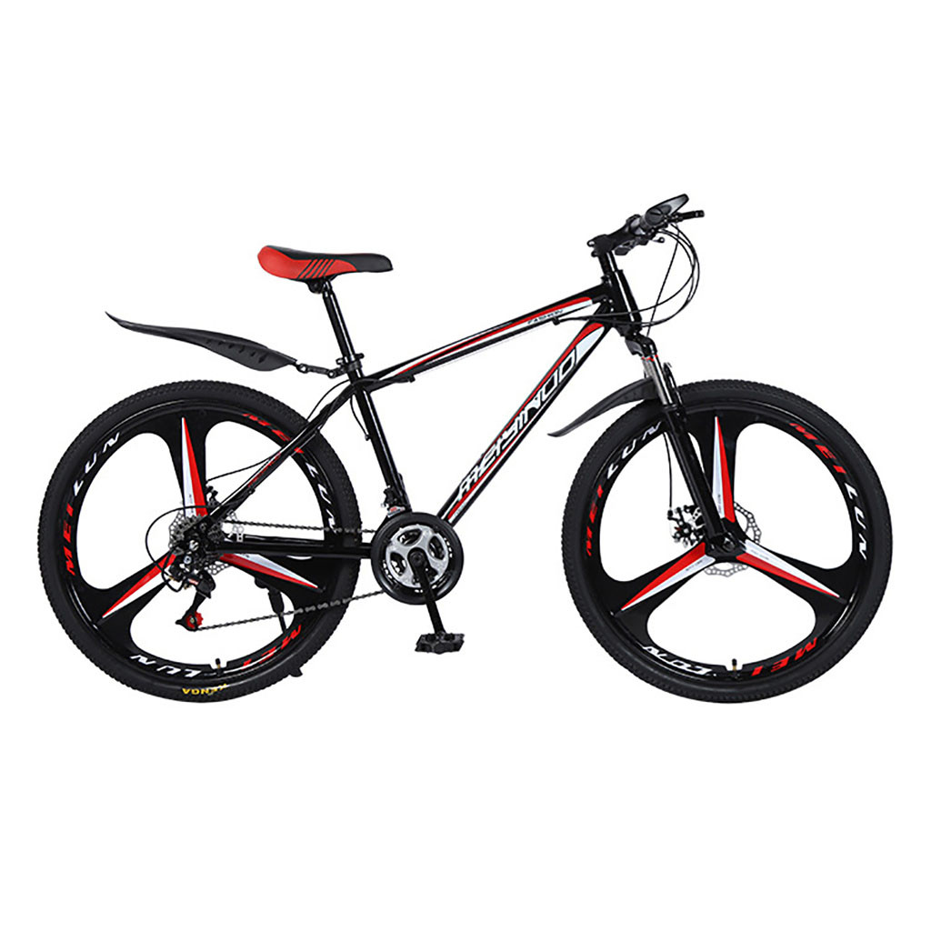 Outroad Mountain Bike 21speed Aluminum Alloy Bicycle 26 Inch Mountain Bike Variable Speed Dual Disc Brakes Bike Free Deliver JG3 image