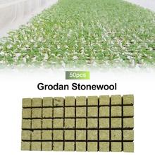 New Imported Rock Wool Soilless Culture Substrate Agricultural Cutting Seedling Block Grodan Hydroponic Grow Media Propagation gm6 b08m power substrate k200s brand new