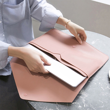Portable Laptop Tablet Bag Business Office Ipad Waterproof Protective Case Women Men Briefcases Document Organizer Accessories