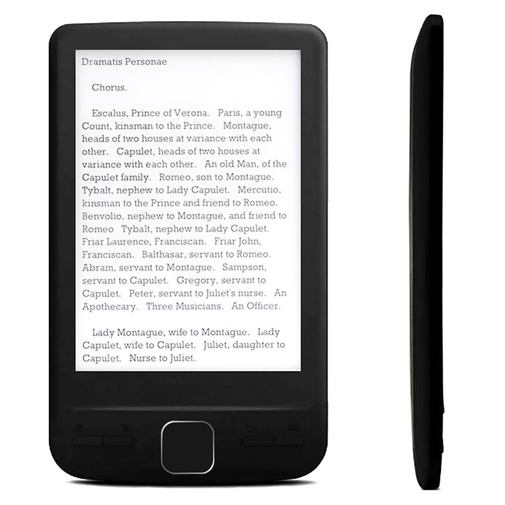ALLOYSEED BK4304 чтения электронных книг 4,3 дюймов OED Eink Экран цифровой смарт чтения электронных книг 4G/8G/16G многофункциональные электронные книги Н...