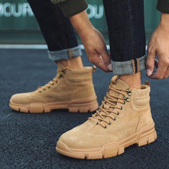 أحذية رياضية رجالية حذاء كاجوال أحذية رياضية رجالية للتدريب Masculino Zapatillas Hombre الأحذية الأدوات أحذية عالية أفضل مارتن الأحذية