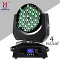 Waschen 108X3W Licht Moving Head Zoom Lichter RGBW Für Dj Bar Konzert Spiele Stadion System Beleuchtung