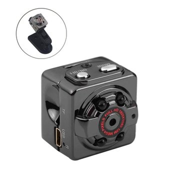 SQ8 Smart 1080p HD Small Mini Camera Video Cam Visible at night Wireless Body DVR DV Tiny Minicamera Microchamber image