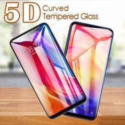5D zakrzywione szkło hartowane dla Xiaomi Mi 11 10T 9T 9 SE 8 A3 A2 Lite uwaga 10 Pro 5G folia ochronna