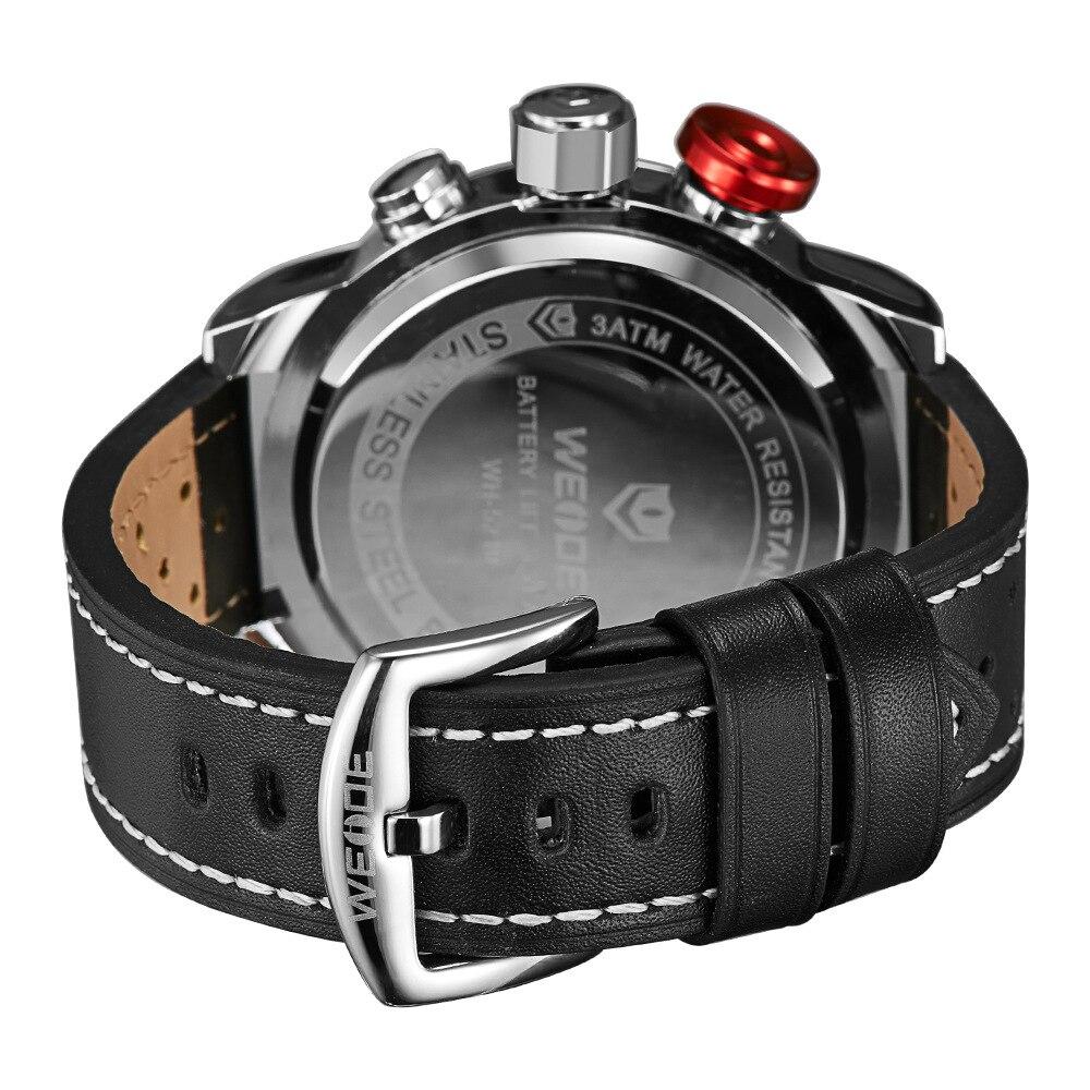 Weide5210 relógio de quartzo de água dos