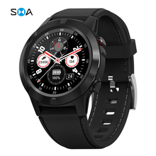 SMA Smart Watch per uomo SIM Call on orologio da polso digitale GPS impermeabile Business Sport Fitness Smartwatch per Android ios
