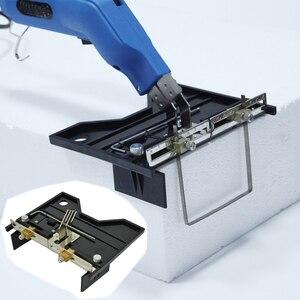 Image 2 - Ze stali nierdzewnej rowek elektryczny, gorący nóż urządzenie do obcinania pianki przenośny przewód ciepła do cięcia rowków akcesoria narzędziowe regulowany nowy