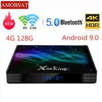 X88 King 4GB 128G Android 9.0 TV Box Dual Wifi BT5.0 1000M 4K samrt tv Box Google Play Store Netflix Youtube 4K Media Player