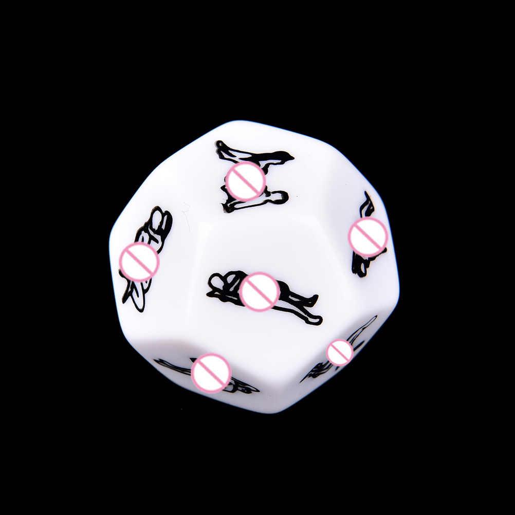 Dadi del sesso Romanticismo Amore Umorismo Partito Dadi e Carte Giochi Per Adulti Giocattoli Del Sesso Erotico Craps Tubo Per Le Coppie Accessori Esotici