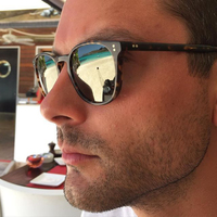 Retro Vintage Finley Esq. Sunglasses Driving Sun Glasses OV5298 Polarized Men Sunglasses for Men and Women Trendy Shades Eyewear