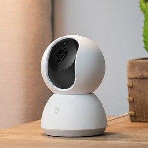 Image 2 - Videocamera originale Xiaomi Mijia 1080P WIFI Smart IP Webcam videocamera 360 angolo panoramica Wireless visione notturna AI movimento avanzato