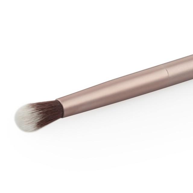 1 Pcs Eye Brush Makeup Brushes Brushes Doubled Ended Eyeshadow Eye Shadow Makeup Cosmetic Brush Tool Champagne Gold Makeup Brush 5