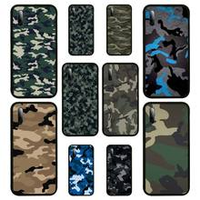 Camouflage Pattern Camo military Phone Case For Samsung S Note20 10 2020 S5 21 30 ultra plus A81 Cover Fundas Coque