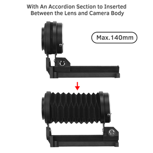 Image 3 - Photography Macro Extension Bellow Photo Studio for Sony NEX E Mount Lens Camera DSLR SLR Cameras Focusing Attachments Accessory