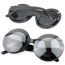 Новые женские круглые солнцезащитные очки Paparazzi с изображением мышки, вечерние очки Gaga