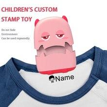 Toy Seal-Stamp Name Custom Baby Waterproof Children's Wash Monster-Seal Chapter School-Uniform