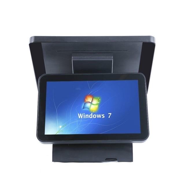 ComPOSxb – caisse enregistreuse avec imprimante, double écran, Point de vente, POS Termianal, systèmes tactiles capacitifs 1