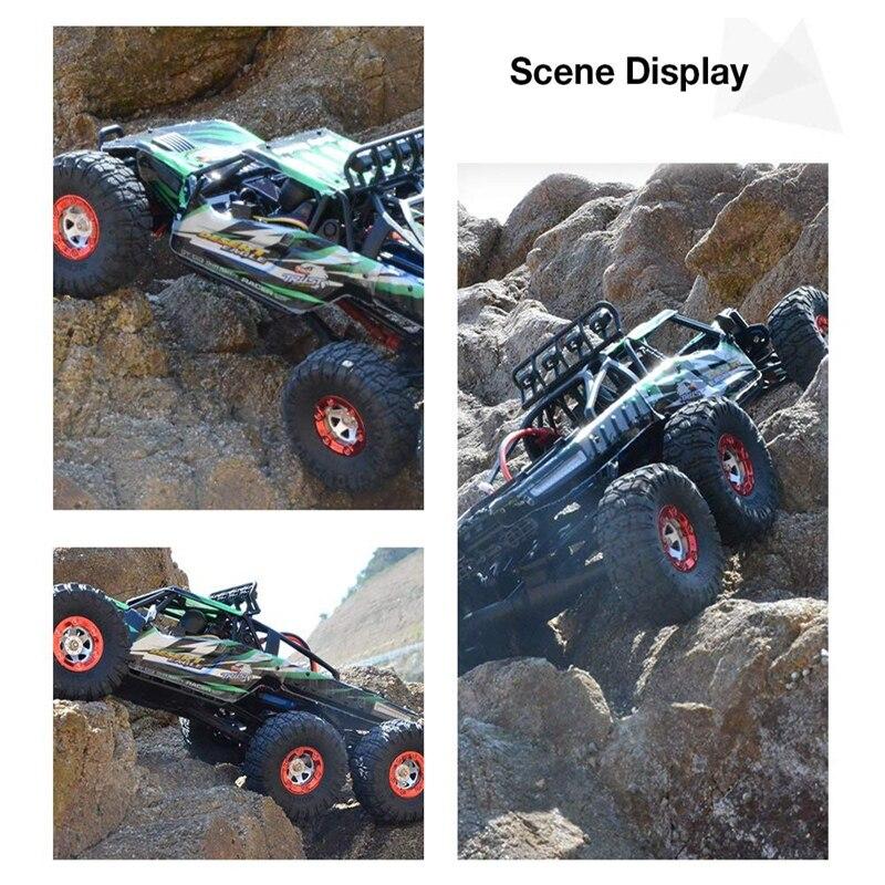 KW C06 1:12 2,4 Ghz 6WD RC внедорожный пустынный грузовик RTR 60 км бесщеточный высокоскоростной амортизатор гоночных автомобилей игрушки