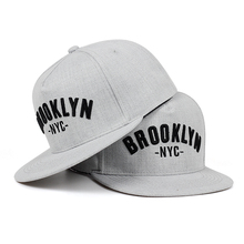 Бруклин письмо бейсболка с вышивкой Мужская мода хлопок% шляпа Отрегулированная Спорт на открытом воздухе шапки для отдыха хип хоп бейсболки