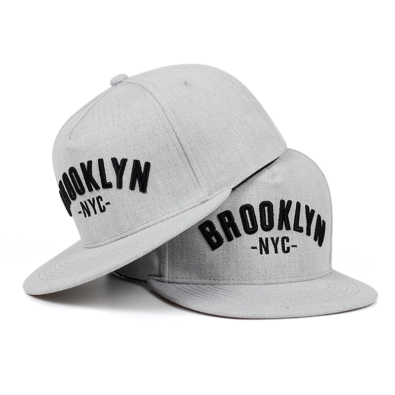 2019 BROOKLYN Letter Embroidered Snapback Cap Men Fashion Cotton% Hat Adjusted Outdoor Sport Leisure Hats Hip Hop Baseball Caps