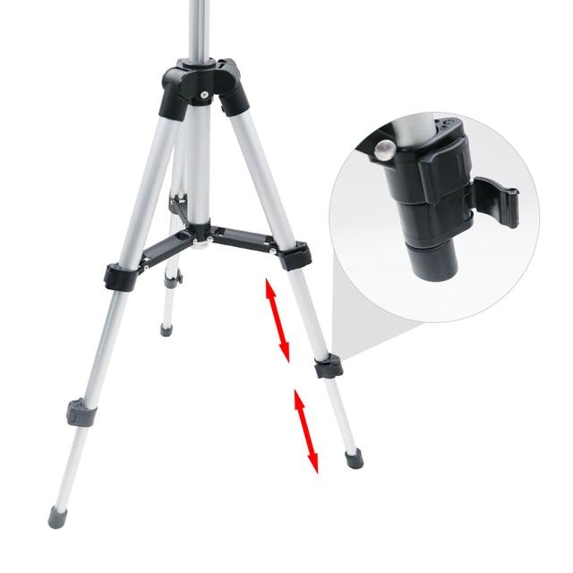 65CM Professional Tripod Foldable Camera Holder Stand Screw 360 Degree Fluid Head Tripod Stabilizer Tripod for