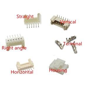 Ph2.0 2.0mm gniazdo złącza głowica pinowa proste prawo kąt, pionowe, poziome, JST obudowa terminal 2 3 4 5 6 7 8 ~ 16p