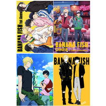 banana fish Poster picture  postcard  card sticker