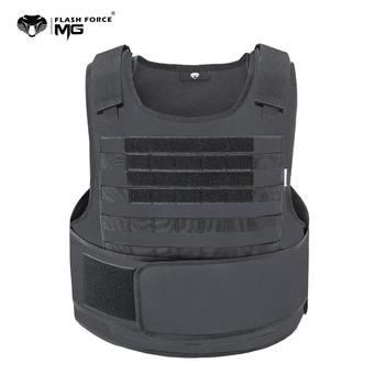 цена на MGFLASHFORCE Airsoft Tactical Vest Plate Carrier Swat Fishing Hunting Military Army Armor Police Molle Vest