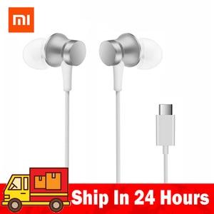Auriculares Xiaomi Piston originales Mi Piston 3 Fresh Edition auriculares USB tipo C Bass con micrófono para auriculares Xiaomi Mi 6/8