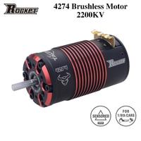 Motore Brushless sensibile Rocket 4268 4274 V2 2700KV 2200KV di alta qualità per fuoristrada 1/8 RC