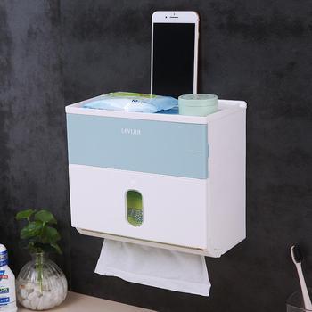 водонепроницаемые ящики для хранения | Пластиковый держатель для туалетной бумаги с буквенным узором, водонепроницаемая коробка для рулона салфеток, держатель для бумаги, раздат...