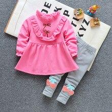 Комплекты одежды для девочек г. Зимний комплект одежды для девочек, футболка+ штаны, 2 предмета, детская одежда спортивный костюм для девочек детская одежда