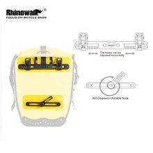 Один комплект для велосипедной сумки rhinowalk пряжка аксессуары