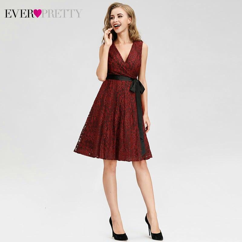 Red Short Cocktail Dresses…