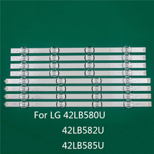 LED TV Illumination Part Replacement For LG 42LB580U 42LB582U 42LB585U 42 inch LED Bar Backlight Strip Line Ruler DRT3.0 42 A B