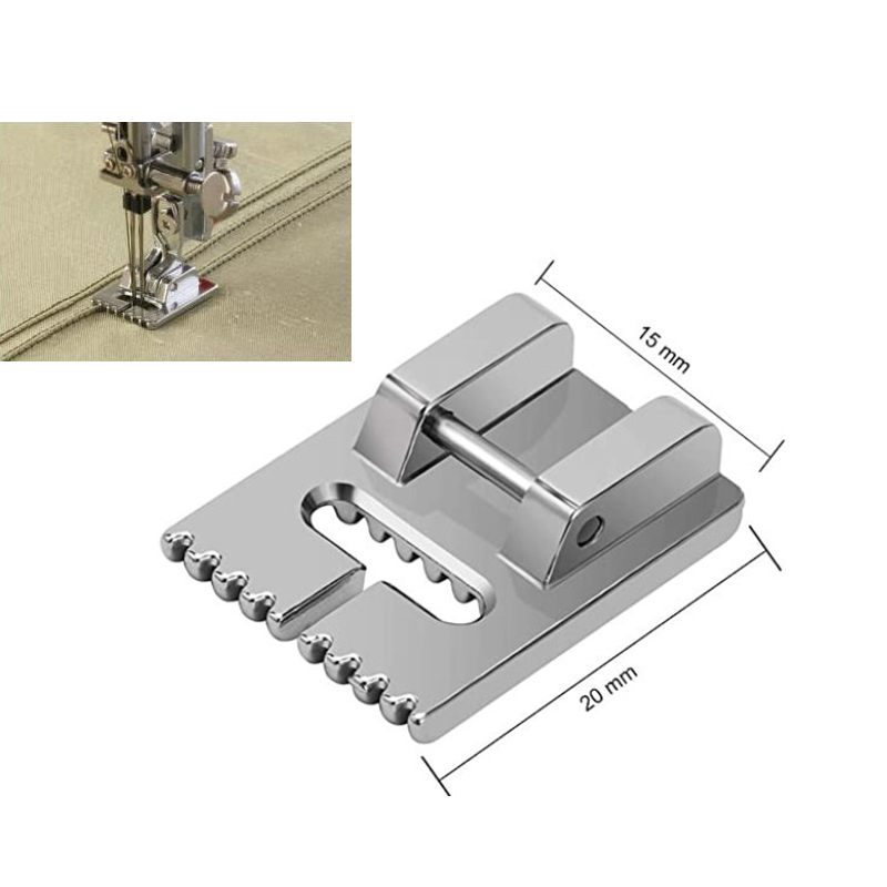 1pc Household Multi-Function Sewing Machine Tank Presser Foot With 9 /7/5 Grooves Sewing Machine Accessories