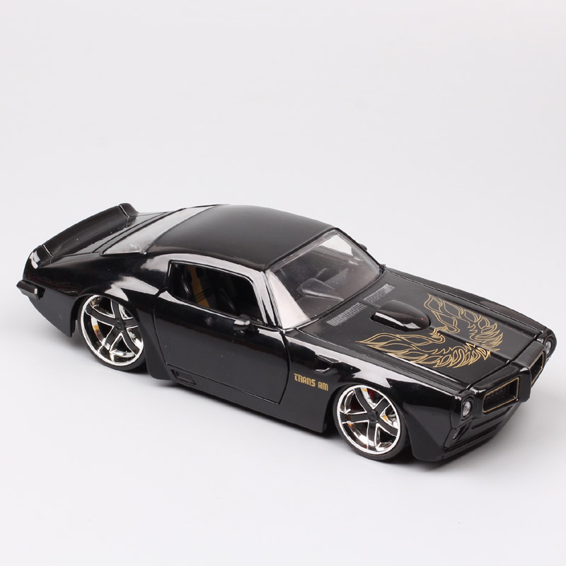 1:24 Scale Jada Old Classic 1972 Pontiac Firebird Trans AM Car Racing Diecast Vehicle Metal Car Toy Model Of Children Collection
