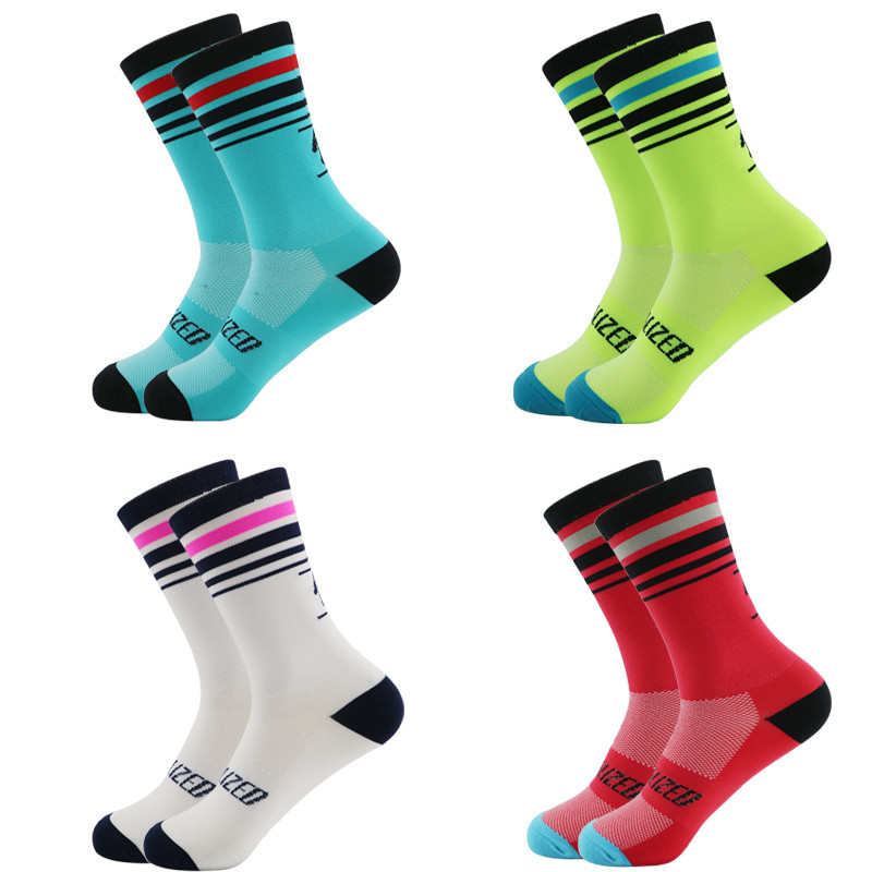 Men Sports Socks Riding Cycling Basketball Running Sport Sock Summer Hiking Tennis Ski Man Women Bike Bicycle Slip