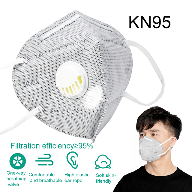 1/5/10/50pcs Ship In 24h Flu Anti Infection KN95Mask Particulate Respirator PM2.5 Protective Safety Same As FFP2 Mask 5
