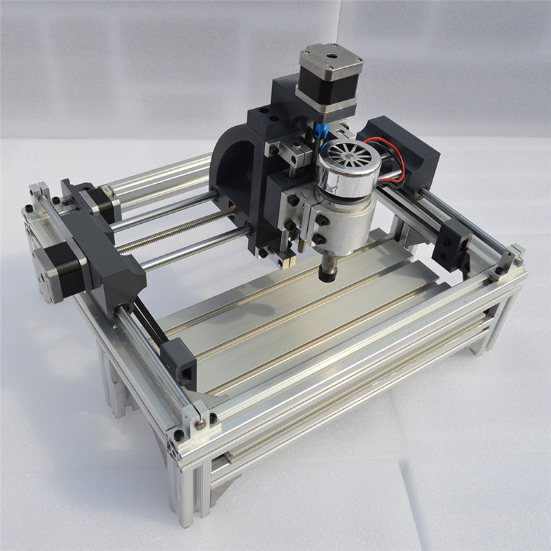 CNC 2415 Laser Engraver Wood CNC Router Machine GRBL Hobby DIY Engraving Machine For Wood PCB PVC Mini CNC2415 Engraver