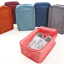 Travel Organizer Shoes Storage Bags Portable Luggage Nylon 6 Colors Shoe Sorting Pouch Multifunction