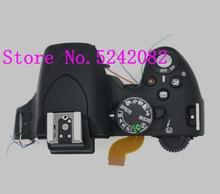 LCD ต้นฉบับฝาครอบด้านบน/หัวแฟลชสำหรับ Nikon D5100 ดิจิตอลส่วนซ่อมกล้อง
