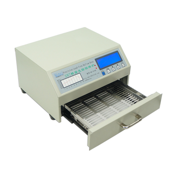Infrared SMD Solder Machine QS-5100 Desktop Automatic IC Heater Infrared Reflow Wave Oven 600W Soldering Heating Equipment 2