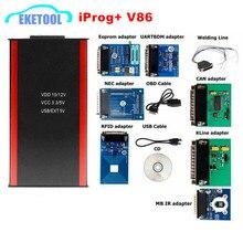 IPROG + PROG โปรแกรมเมอร์รองรับจนถึง2019ปี V86เปลี่ยน Carprog/Digiprog/Tango Iprog IMMO/ถุงลมนิรภัย Rest/วัดระยะทาง