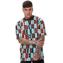 Novo Homens Da Camisa listra T-Shirt Rápida Execução de treinamento de secagem Esportes dos homens Camisa Magro T masculino 2021
